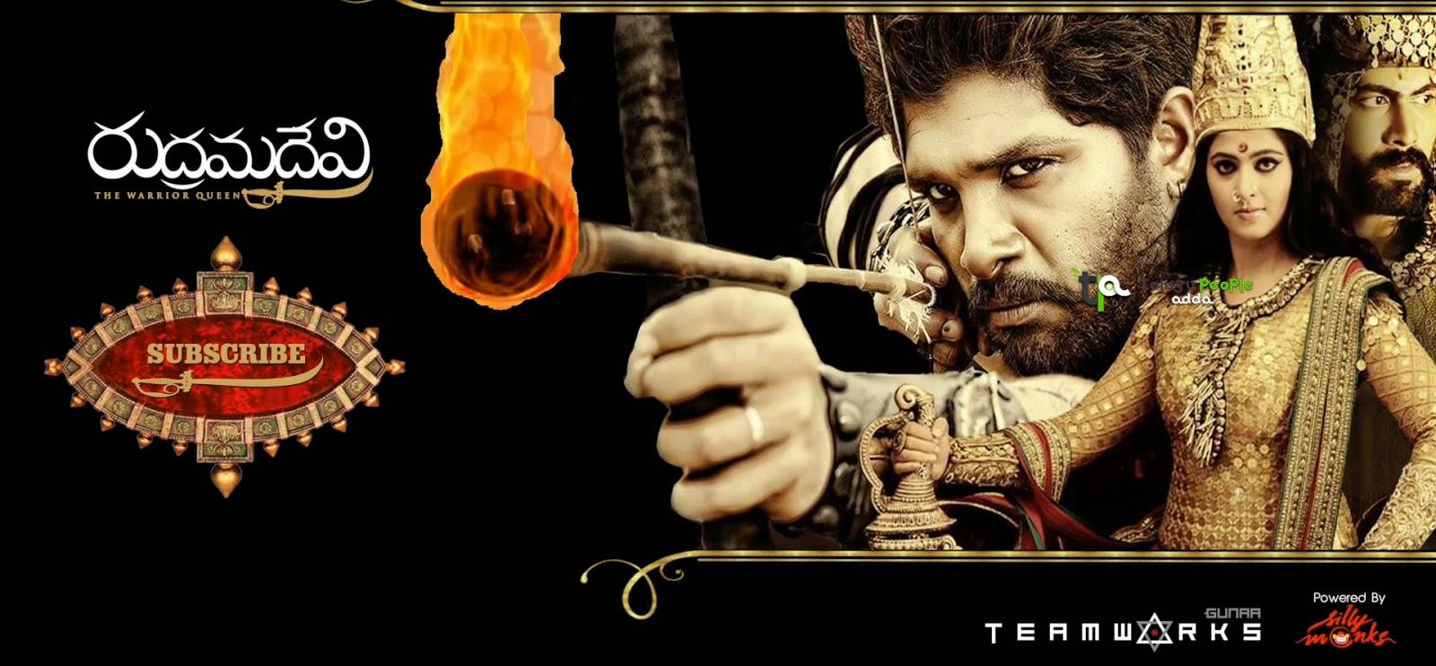 Rudhramadevi Movie Making Video   Anushka Shetty   Gunasekhar