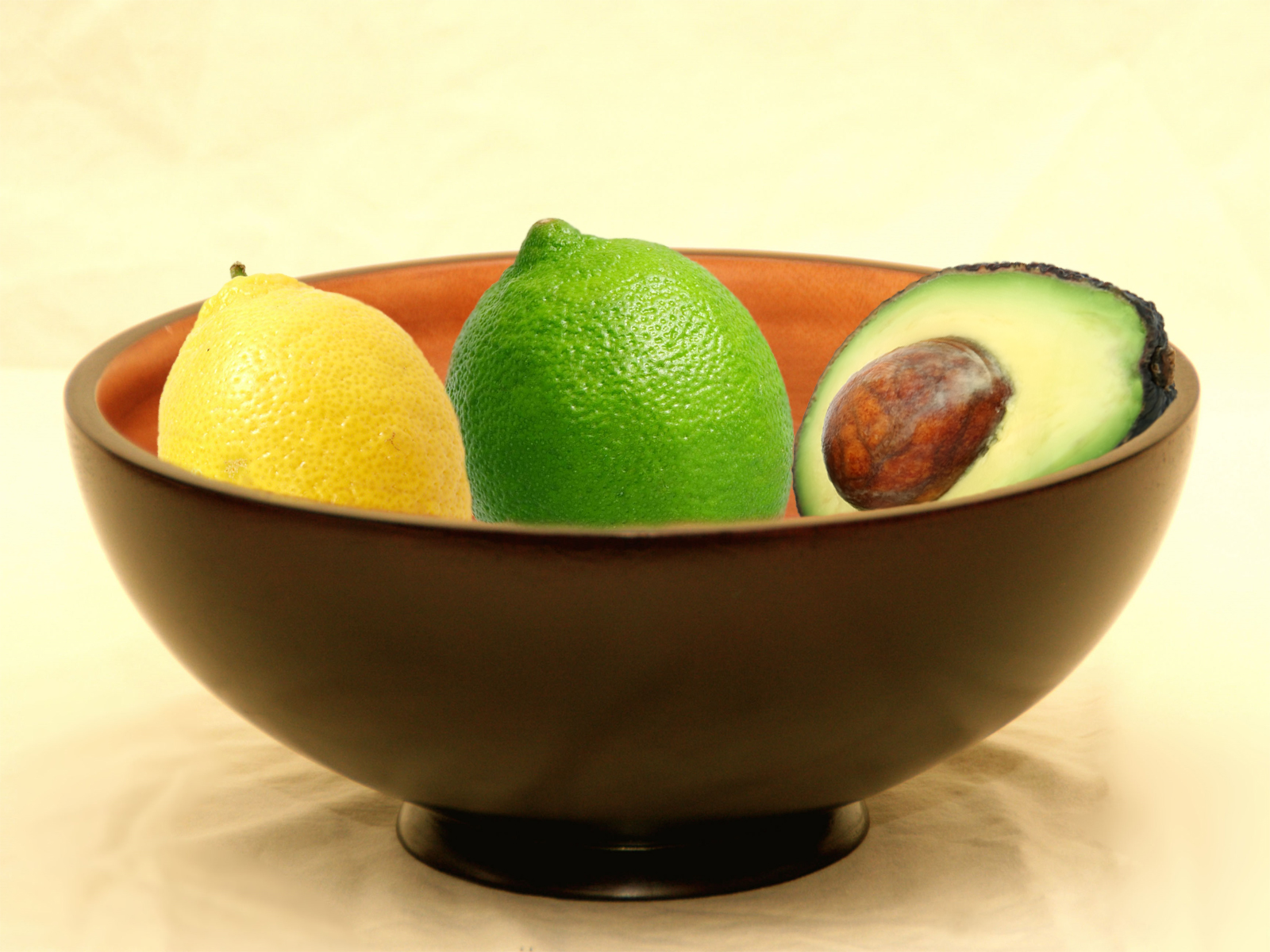 Simple bowl of fruit the image kid has it for A day in the life of a minimalist