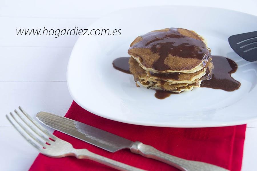 Pancakes con sirope casero de nutella for Facilisimo cocina postres