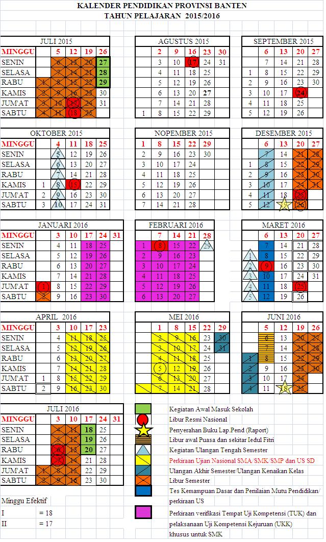 Search Results For Kalender Pendidikan 2015 2016 Sd Calendar 2015