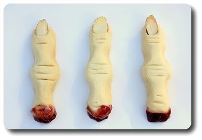 severed finger cookies...