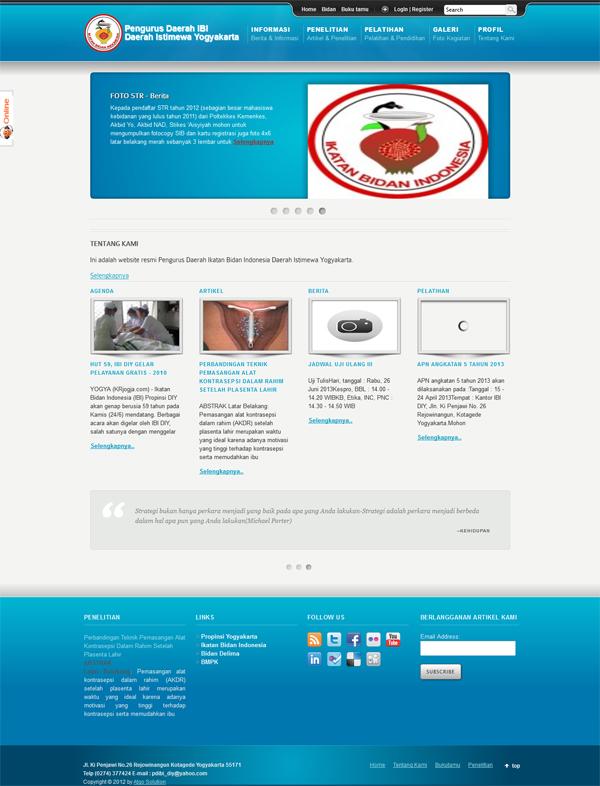 Jasa Pembuatan Website  Catatan Mas Gatot