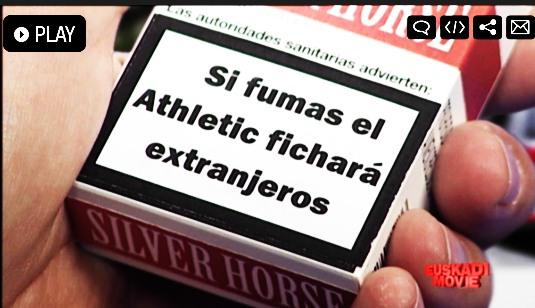 Athletic,extranjeros,fumar,tabaco