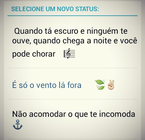 Status Para Whatsapp Indiretas Tumblr
