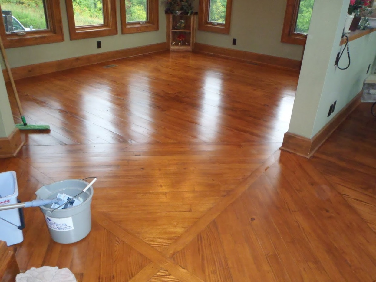 hardwood flooring cleaning