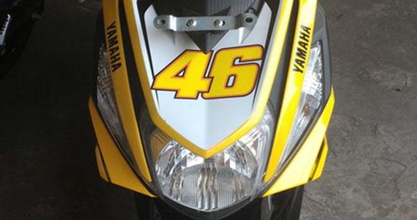 contoh modifikasi mio m3 warna kuning