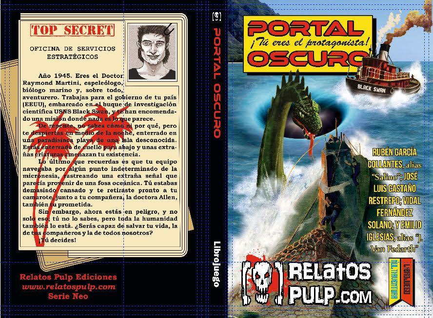Publicaciones - Portal Oscuro-  libro juego