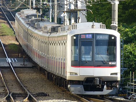 東急東横線 各停 武蔵小杉行き 5050系