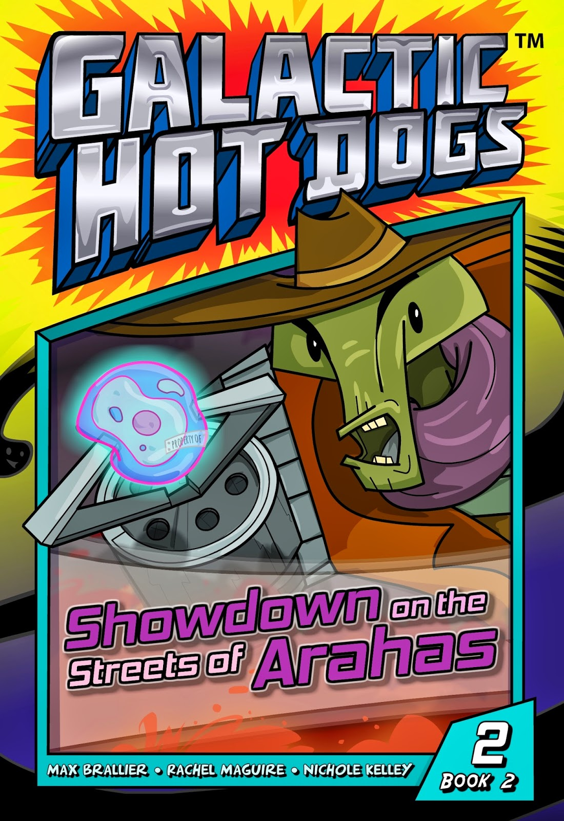 Galactic Hot Dogs: Book Two -- Chapter 2 -- Showdown on the Streets of Arahas
