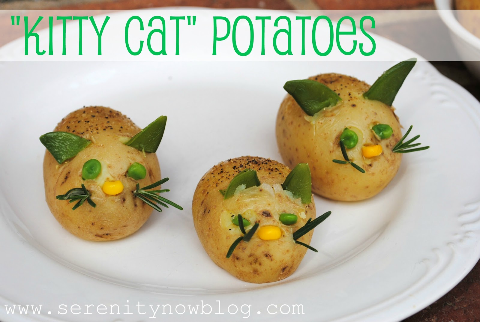 Serenity now veggie pets kitty cat potatoes