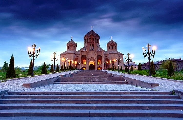 кафедральный собор в ереване для