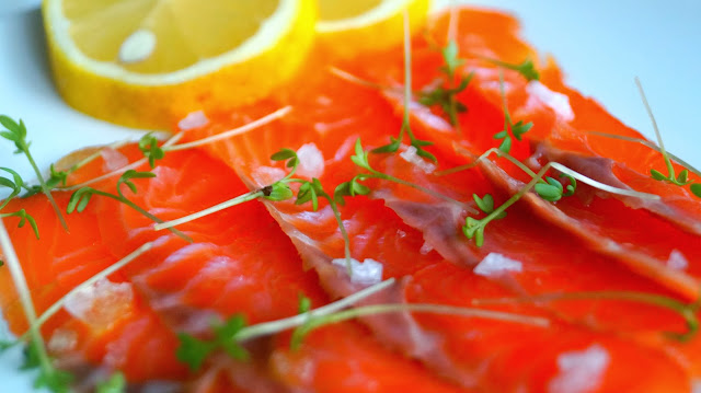 Cold smoke salmon carpaccio recipe proQ cold smoke generator