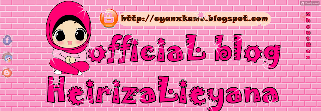 ini blog heirizalieyana,header baru blog heirizalieyana