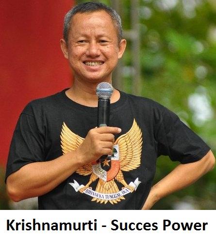 Khrisnamurti - Succes Power