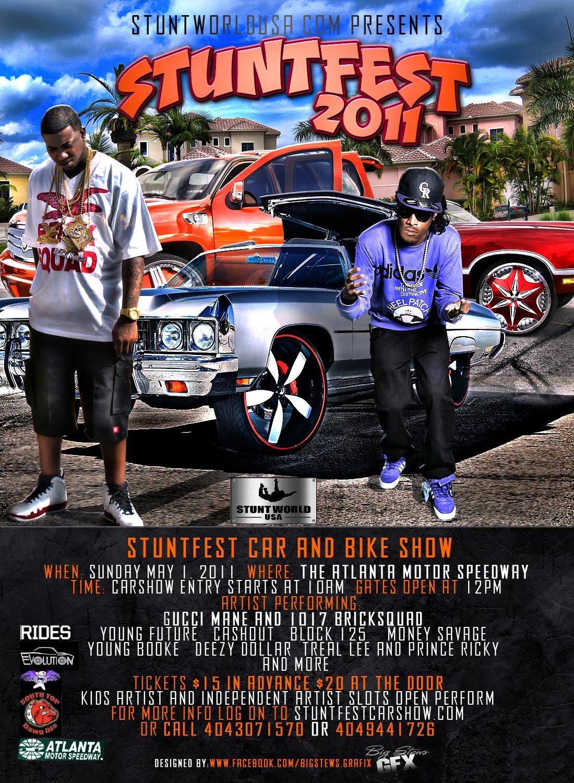 Bernies Car Show Coverage Stuntfest Car Show Doing Donuts - Car show atlanta motor speedway