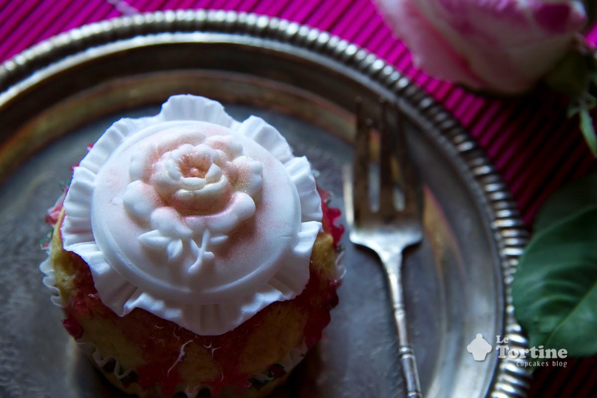 festa della mamma 2015: cupcakes alla rosa e limone