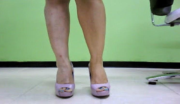 piernas maquilladas
