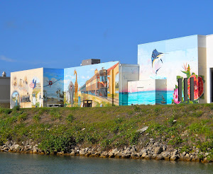 Murals are a reminder that Ringling Bros. wintered in Venice for  30+ years.