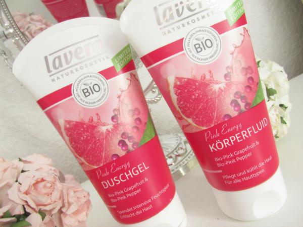 Lavera Pink Energy Limited Edition Körperfluid & Duschgel