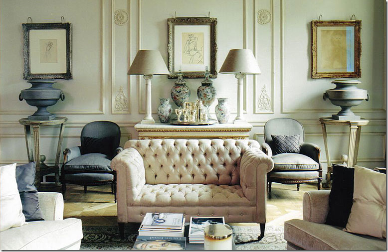 The deco blog mid century modern design and symmetry for Symmetry in interior design