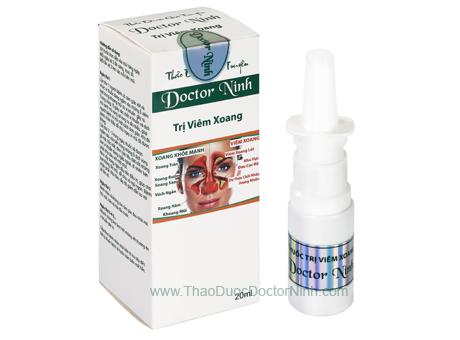 Thảo dược gia truyền Doctor Ninh trị viêm xoang
