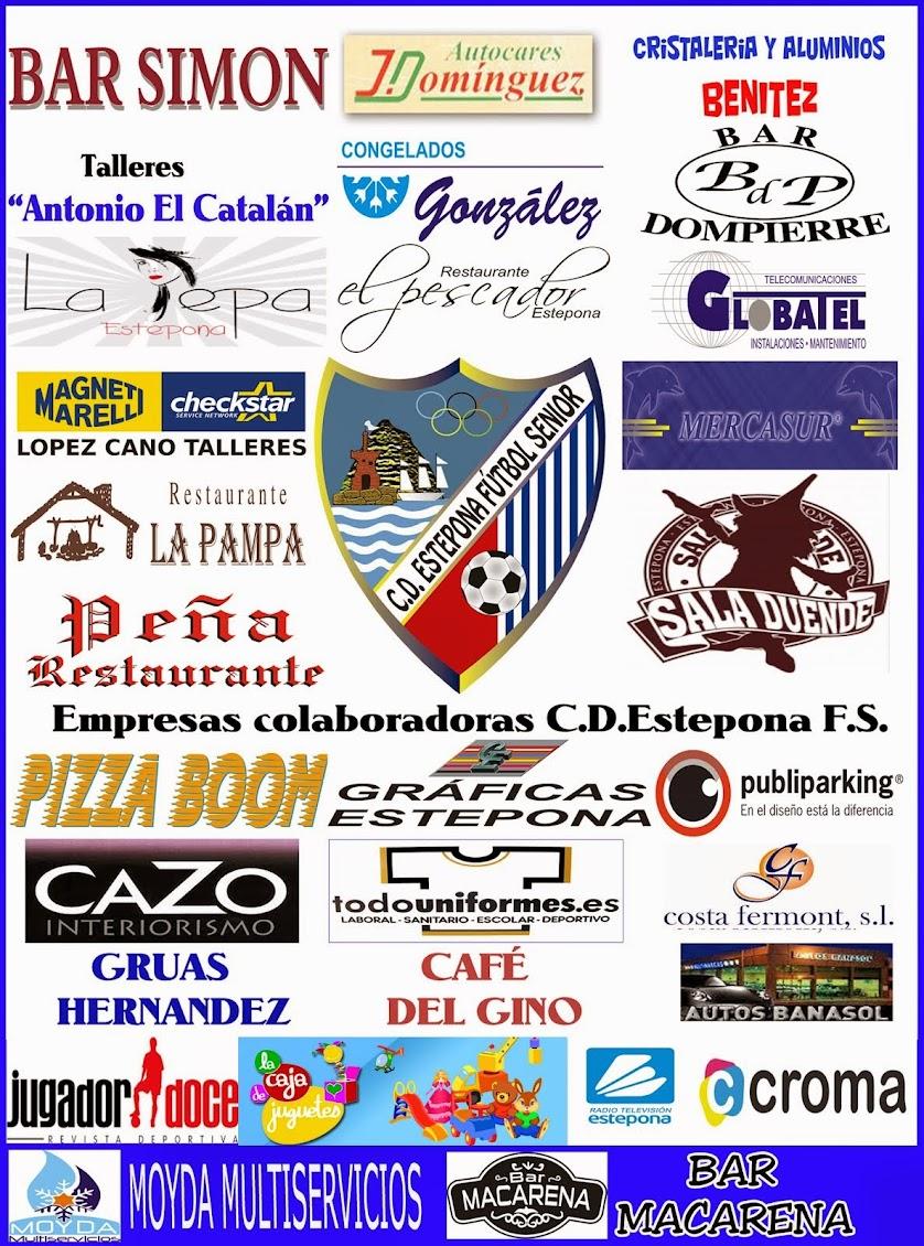 Empresas Colaboradoras CD Estepona FS