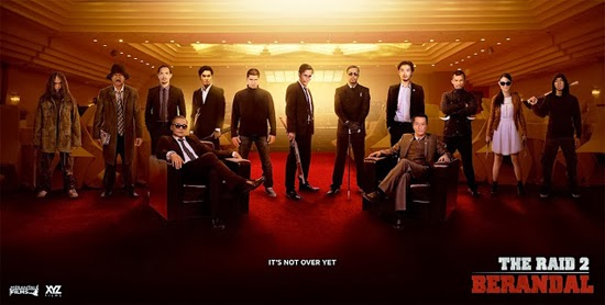 Film The Raid 2: Berandal (2014) Bioskop