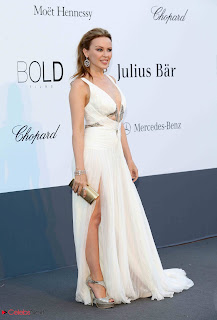 Kylie Minogue Pictures in Evening Dress at amFAR Cinema Against AIDS Event  0004