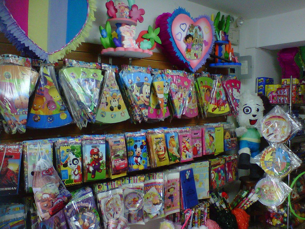 Cosas para fiestas infantiles top cositas y detalles para - Todo para tu fiesta infantil ...