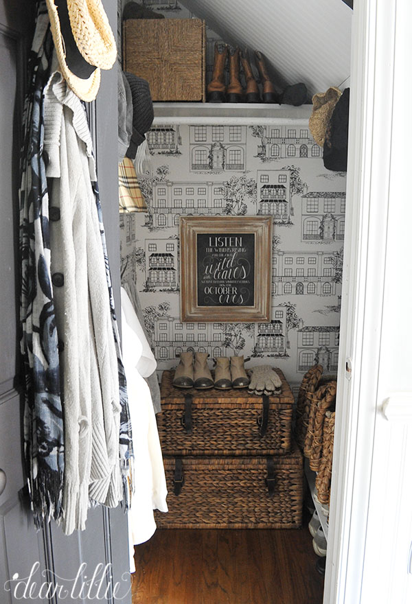 Our Entryway Closet