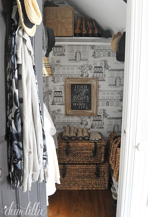 Foyer Closet Organization Ideas Part - 46: Our Entryway Closet