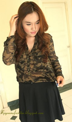 The touch of Camo Look!