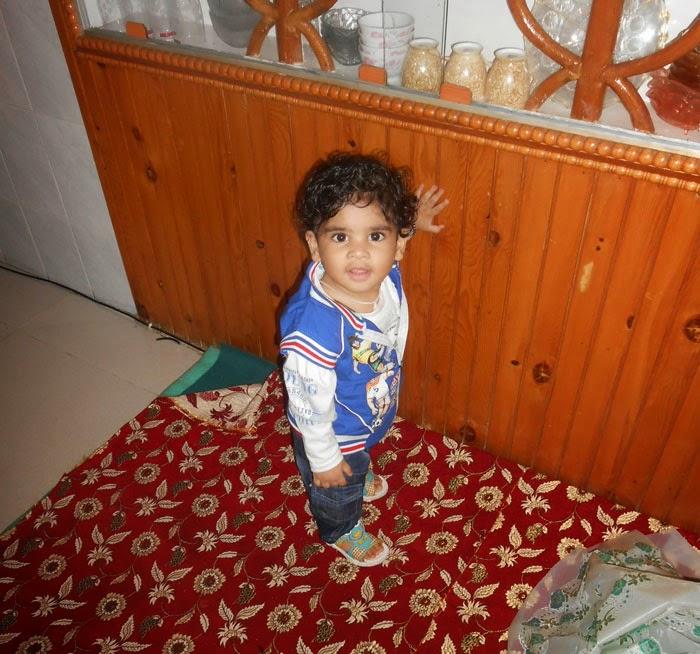 Sam in Kashmiri Kitchen