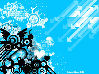 Blue Wallpapers Vector