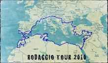 LA MAPPA DEL RODAGGIO TOUR 2010