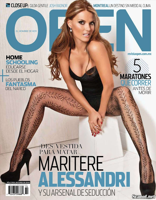 Fotos de Maritere Alessandri en Revista Open Mayo 2012 (5-2012) Mexico ...