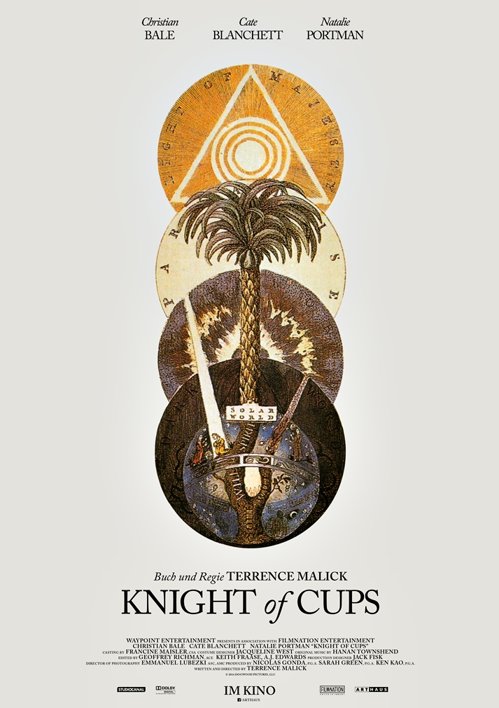 Póster: Knight of Cups