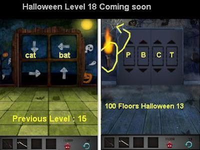 100 Floors Halloween Level 18