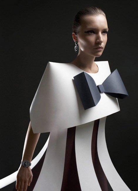 Futuristic Style Paper Fashion Dresses Tutt 39 Art