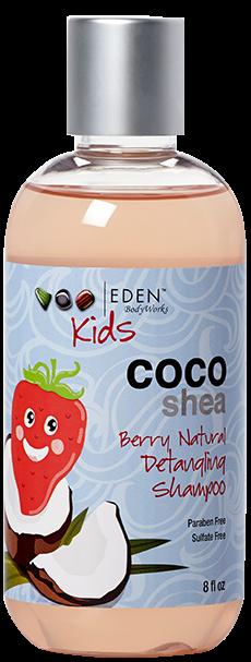 Eden Bodyworks Kids Coco Shea Berry Natural Detangling Shampoo