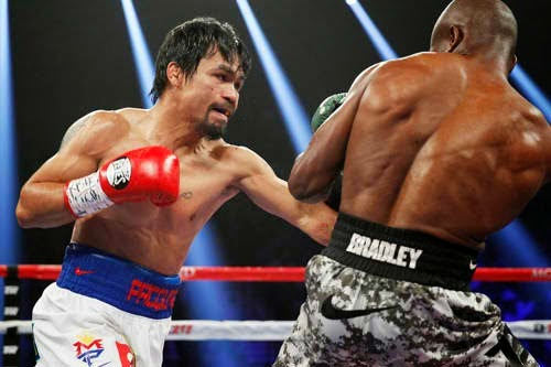 Pacquiao regained his welterweight title from the controversial loss last June 2012