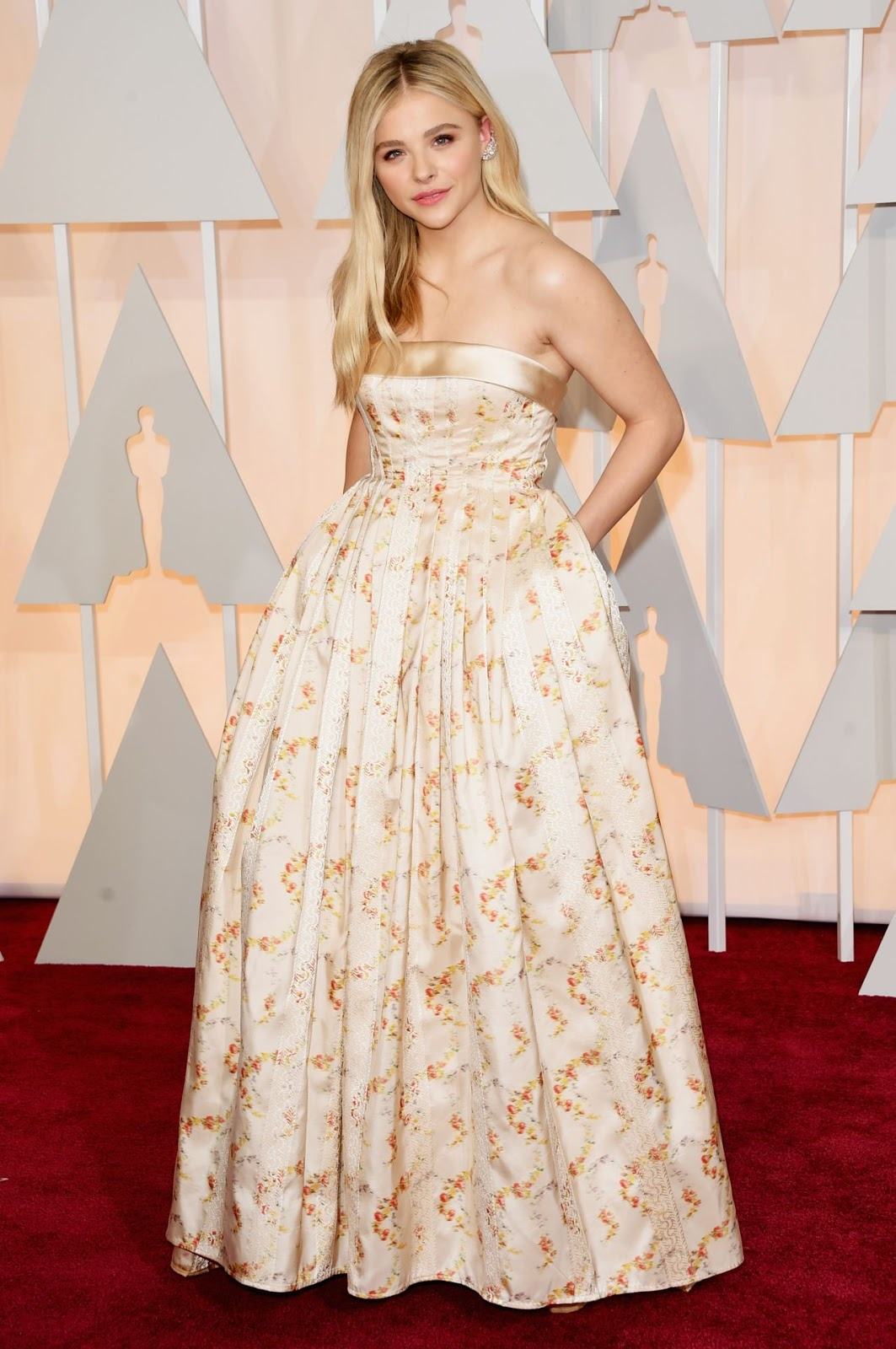 Chloe Moretz – 2015 Oscars Red Carpet in Hollywood