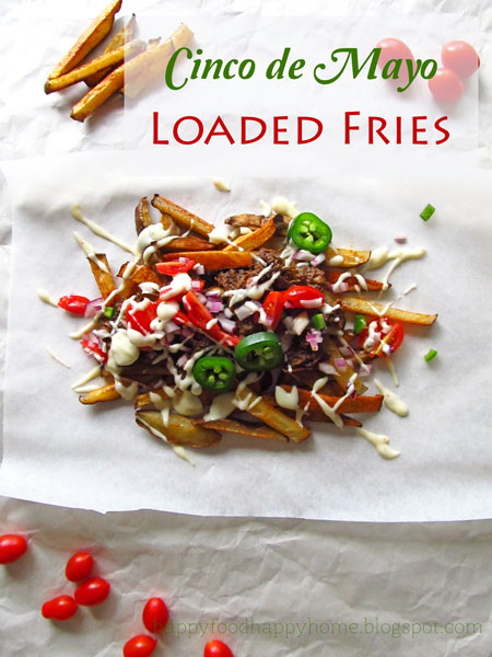 Cinco de Mayo Loaded French Fries