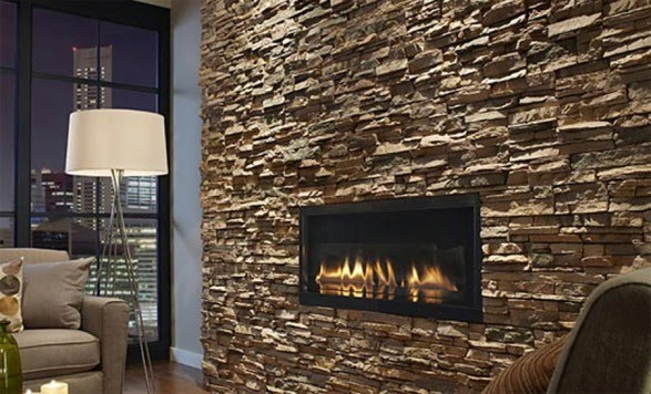 Peartreedesigns beautiful stone walls intirior wallpapers for Interior fireplaces designs