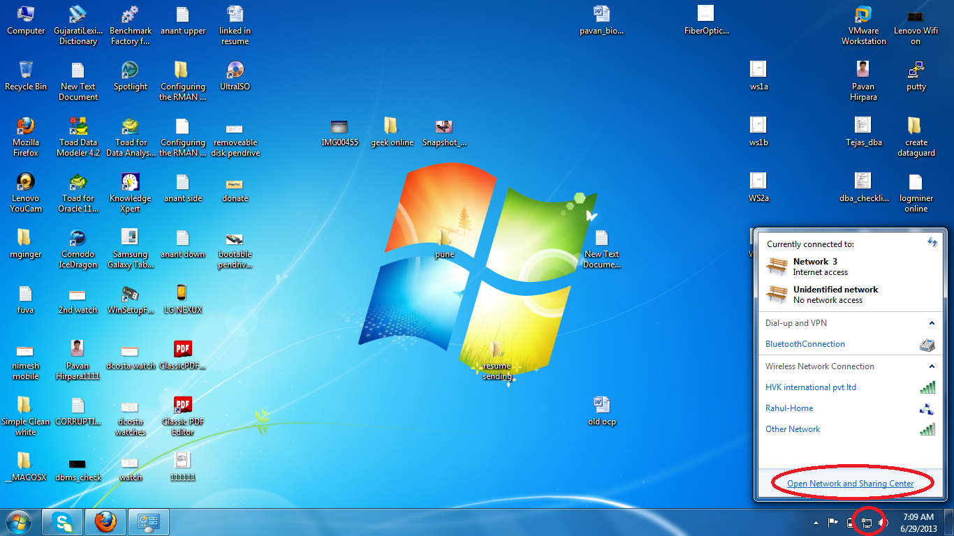 how to make your laptop as wifi hotspot windows 7