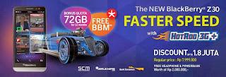 XL Promo BlackBerry Z30 Diskon Hingga Rp 1.8 juta