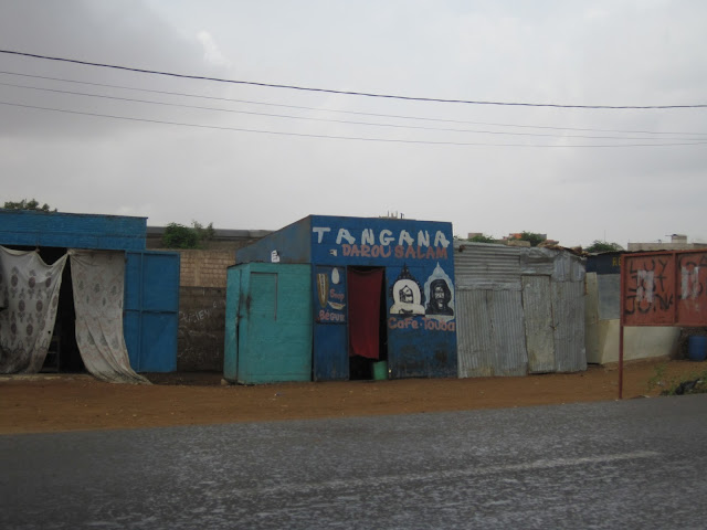 Carretera en Senegal