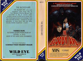 wild eye vhs bloody ape