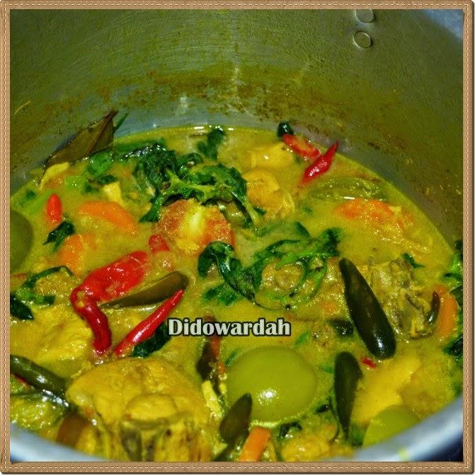 Resep Masakan Indonesia Sehari Hari Garang Asem Ayam Khas Solo