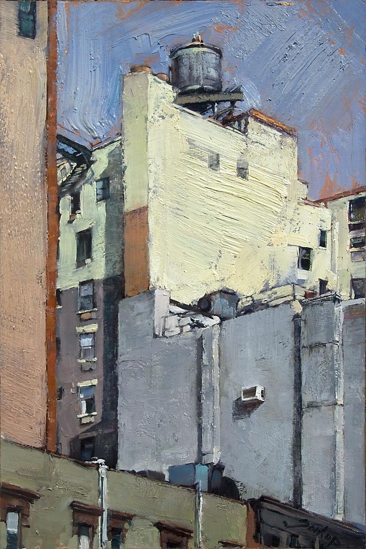 Jill Soukup painting